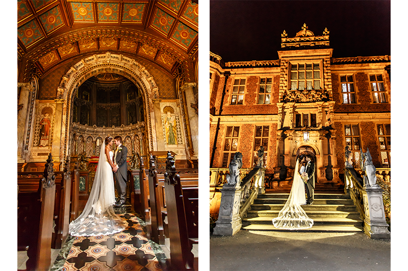 Crewe Hall Wedding Photography